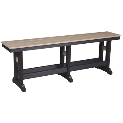 """Bench - 66"""" Dining Height"""
