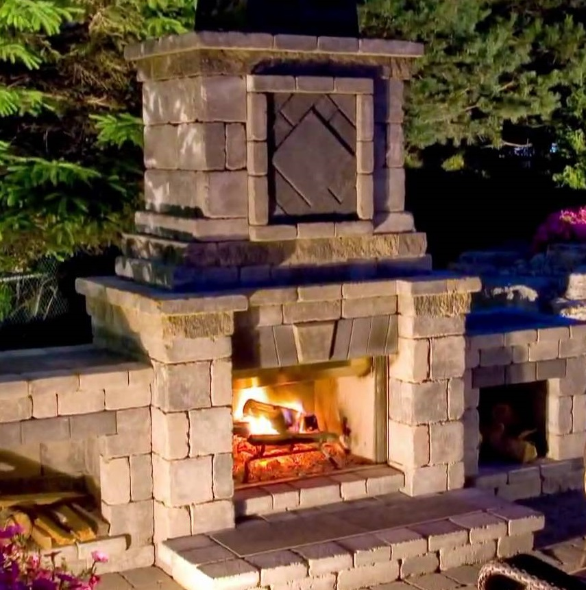 Vcs web store outdoorlighting outdoor living outdoor for Isokern outdoor fireplace prices
